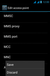 Acer Liquid Z2 - Mms - Manual configuration - Step 15