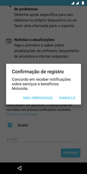 Motorola Moto G6 Plus - Primeiros passos - Como ativar seu aparelho - Etapa 19