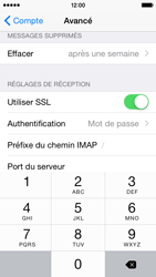 Apple iPhone 5c iOS 8 - E-mail - Configuration manuelle - Étape 26