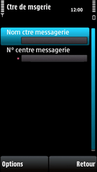 Nokia X6-00 - SMS - configuration manuelle - Étape 8