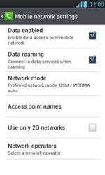 LG P700 Optimus L7 - Internet - Usage across the border - Step 6