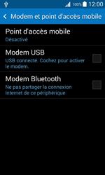 Samsung Galaxy Trend 2 Lite - Internet et connexion - Utiliser le mode modem par USB - Étape 6