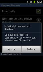Samsung I8160 Galaxy Ace II - Bluetooth - Conectar dispositivos a través de Bluetooth - Paso 9