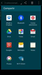 Samsung G900F Galaxy S5 - Bluetooth - Transferir archivos a través de Bluetooth - Paso 9