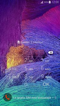 Samsung N910F Galaxy Note 4 - Primeros pasos - Activar el equipo - Paso 2