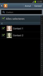 Samsung N7100 Galaxy Note II - Contacten en data - Contacten kopiëren van SIM naar toestel - Stap 7