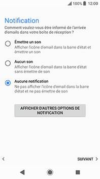 Sony Xperia XA2 Ultra - E-mails - Ajouter ou modifier un compte e-mail - Étape 21