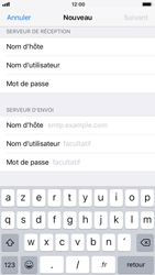 Apple iPhone 6 - iOS 11 - E-mail - Configuration manuelle - Étape 14