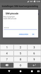 Sony xperia-xa1-g3121-android-oreo - Beveiliging en ouderlijk toezicht - Hoe wijzig ik mijn SIM PIN-code - Stap 8