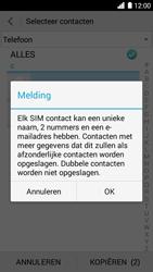 Huawei Ascend G6 3G (Model G6-U10) - Contacten en data - Contacten kopiëren van toestel naar SIM - Stap 11