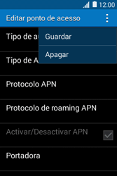 Samsung Galaxy Young II - Internet no telemóvel - Como configurar ligação à internet -  15