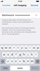 Apple iPhone SE - iOS 11 - WiFi - WiFi hotspot instellen - Stap 5