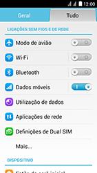 Huawei Ascend Y625 - Internet no telemóvel - Como ativar os dados móveis -  4