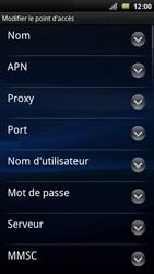 Sony Ericsson Xperia Arc - Mms - Configuration manuelle - Étape 8