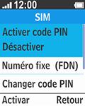 Bouygues Telecom Bc 211 - Sécuriser votre mobile - Activer le code de verrouillage - Étape 6