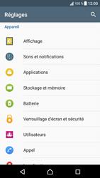 Sony Xperia XZ - Messagerie vocale - configuration manuelle - Étape 5
