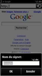 Nokia 500 - Internet - navigation sur Internet - Étape 5