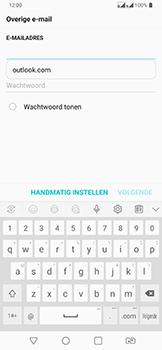 LG v40-thinq-lm-v405ebw - E-mail - Handmatig Instellen - Stap 8