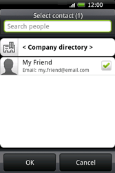 HTC A6262 Hero - Email - Sending an email message - Step 9