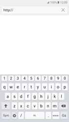 Samsung Galaxy S7 Edge - Internet - hoe te internetten - Stap 5