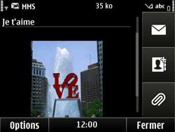 Nokia E6-00 - MMS - envoi d'images - Étape 10