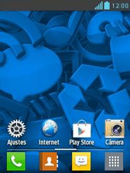 LG L1 II - Segurança - Como trocar o código PIN do seu celular - Etapa 1