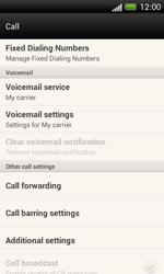 HTC C525u One SV - Voicemail - Manual configuration - Step 5