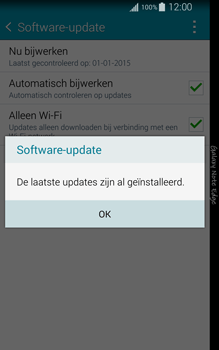 Samsung N915FY Galaxy Note Edge - Netwerk - Software updates installeren - Stap 10