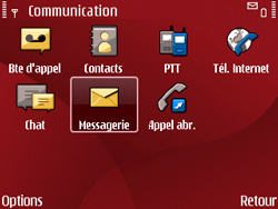 Nokia E63 - Internet - Configuration automatique - Étape 5