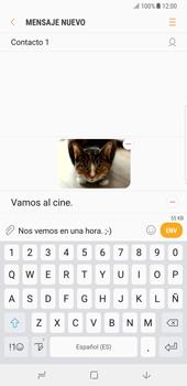 Samsung Galaxy Note 8 - Mensajería - Escribir y enviar un mensaje multimedia - Paso 19