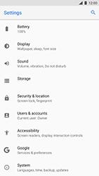 Nokia 8 (SingleSim) - Device - Factory reset - Step 6