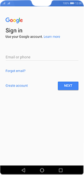 Huawei P20 Pro - Applications - Create an account - Step 3