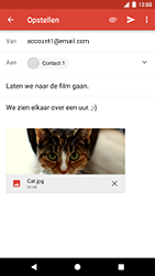 Google Pixel - E-mail - Bericht met attachment versturen - Stap 16