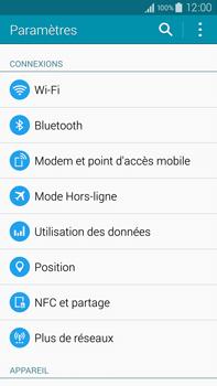 Samsung Galaxy Note 4 - Internet et connexion - Activer la 4G - Étape 4