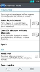 LG G2 - Funciones básicas - Activar o desactivar el modo avión - Paso 5