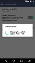 LG K8 - Network - Installing software updates - Step 11