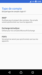 Sony Xperia X Performance (F8131) - E-mail - Configuration manuelle - Étape 11