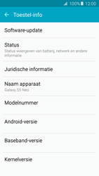 Samsung G903F Galaxy S5 Neo - Netwerk - Software updates installeren - Stap 6