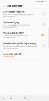 Samsung Galaxy S8 Plus - Android Oreo - MMS - probleem met ontvangen - Stap 10