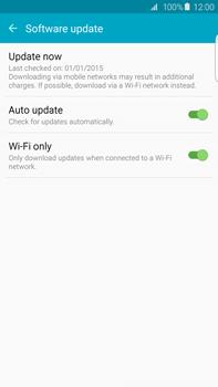 Samsung Galaxy S6 edge+ - Network - Installing software updates - Step 7