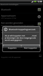 HTC Z710e Sensation - Bluetooth - Headset, carkit verbinding - Stap 8