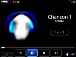BlackBerry curve 3G - Photos, vidéos, musique - Ecouter de la musique - Étape 7