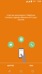 Wiko U-Feel Lite - E-mail - Configuration manuelle - Étape 4