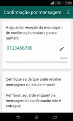 Sony Xperia E1 - Aplicações - Como configurar o WhatsApp -  8