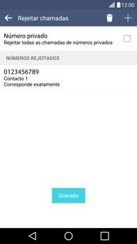 LG G4 - Chamadas - Como bloquear chamadas de um número -  12