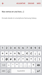 Samsung Galaxy S6 - E-mail - Escribir y enviar un correo electrónico - Paso 10