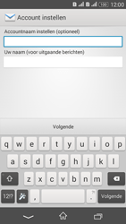 Sony Xperia E4g (E2003) - E-mail - Account instellen (POP3 met SMTP-verificatie) - Stap 19