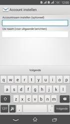 Sony E2003 Xperia E4 G - E-mail - Handmatig instellen - Stap 19