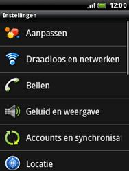 HTC A3333 Wildfire - Internet - Uitzetten - Stap 4