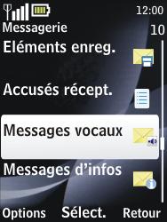 Nokia 2730 classic - Messagerie vocale - configuration manuelle - Étape 5